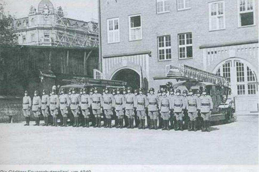 Görlitzer Feuerschutzpolizei 1940
